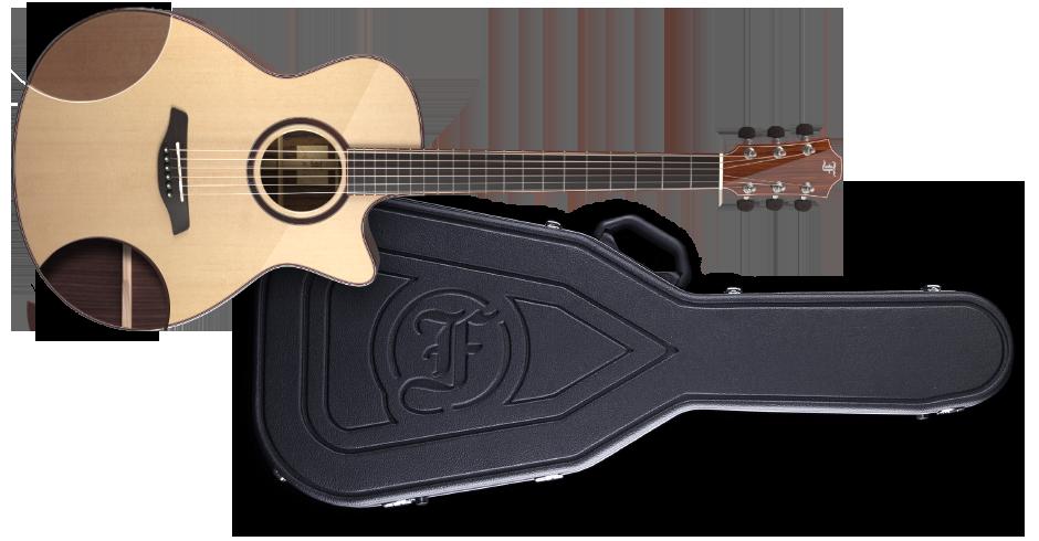 Furch Guitars guitar and case