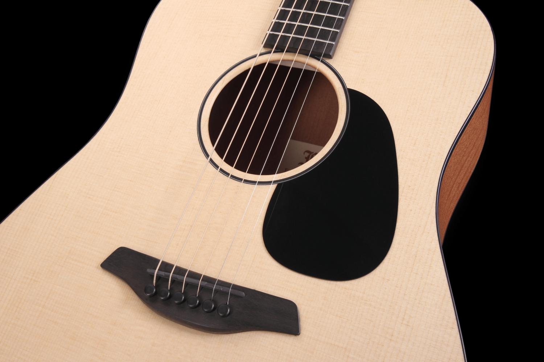 Violet SY Predni Deska Furch Guitars