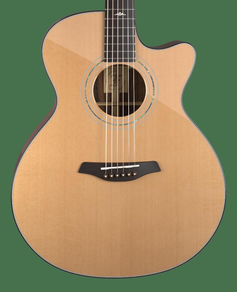 Bar Cut shape Furch Guitars