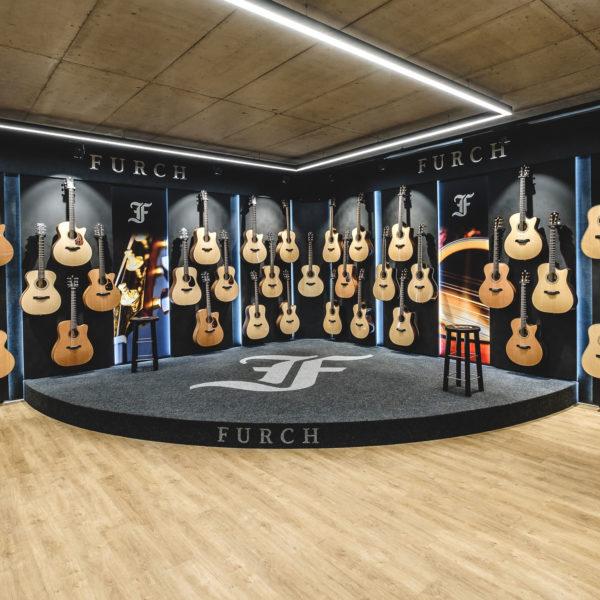 Furch Guitars přestěhoval svou firemní prodejnu   Furch