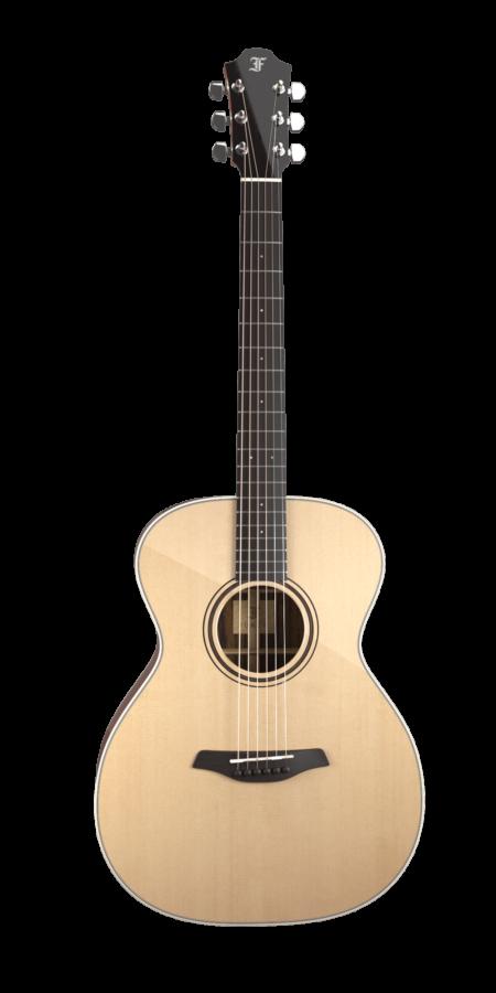 Green OM SR Front Furch Guitars