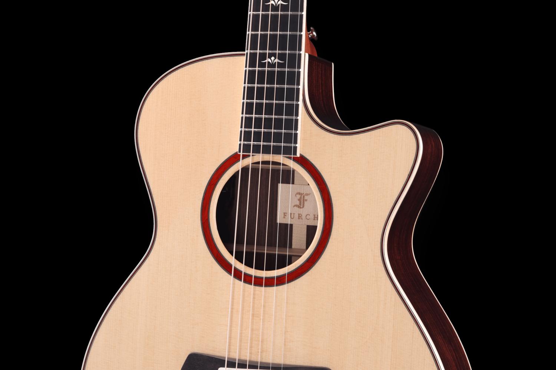 2019 Orange OMc SR Rozeta Furch Guitars