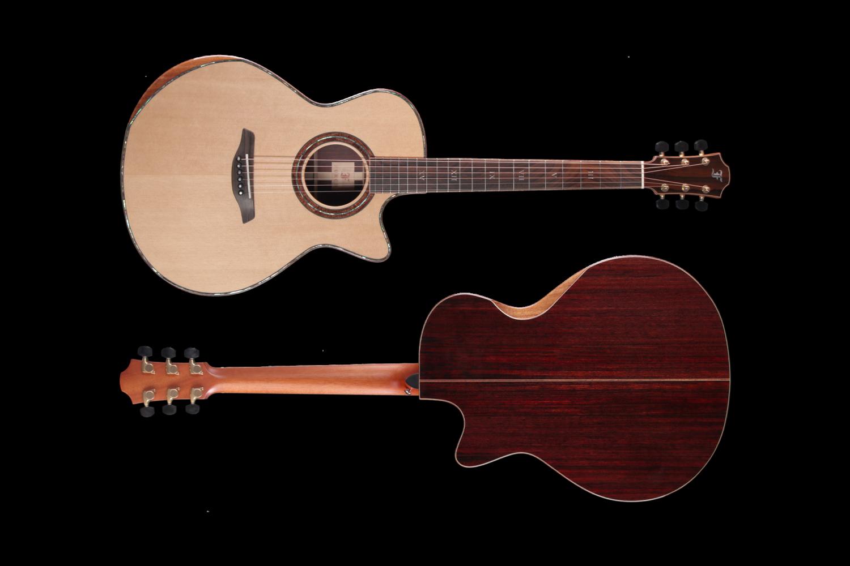 Red Deluxe SR Bevel Furch Guitars