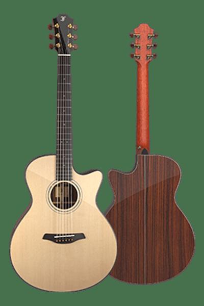 Yellow Gc CR Furch Guitar