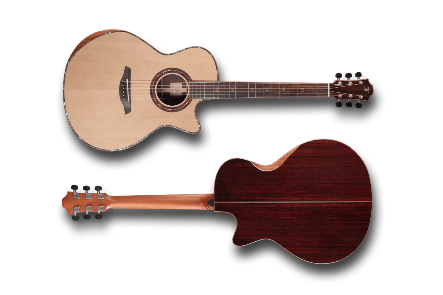 Furch Red Deluxe SR Front and Back Bevel Duo